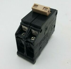 30A//2P//240V CH230 USED CHIPPED EATON // CUTLER HAMMER CIRCUIT BREAKER