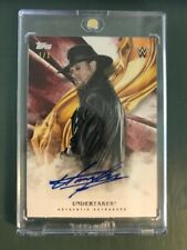 2019 Topps WWE Undisputed Undertaker Autograph Red Parallel 1/1 One of One Auto