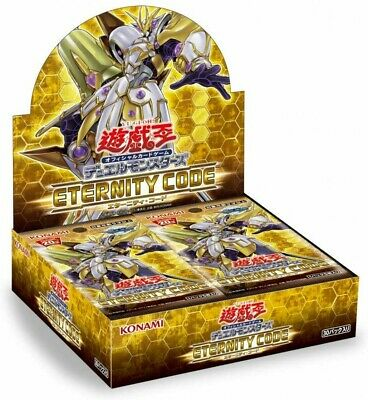 Yu-Gi-Oh card ETERNITY CODE booster 1 Box Japanese