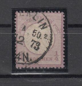 X4535/ GERMANY REICH – MI # 1 USED – CV 165 $