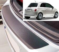 FIAT 500 - carbonio stile PARAURTI POSTERIORE protettore