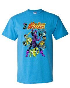 WEST-COAST-AVENGERS-t-shirt-Marvel-Hawkeye-Wonderman-Mockingbird-graphic-tee