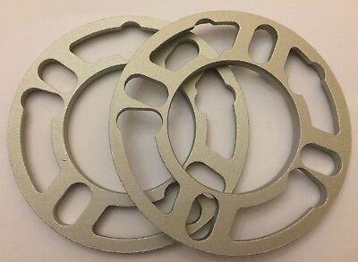 100% QualitäT 2 X 8mm Shims Spacer Universal Alloy Wheels Spacers For Alfa Romeo 5x98 M12 58 äSthetisches Aussehen