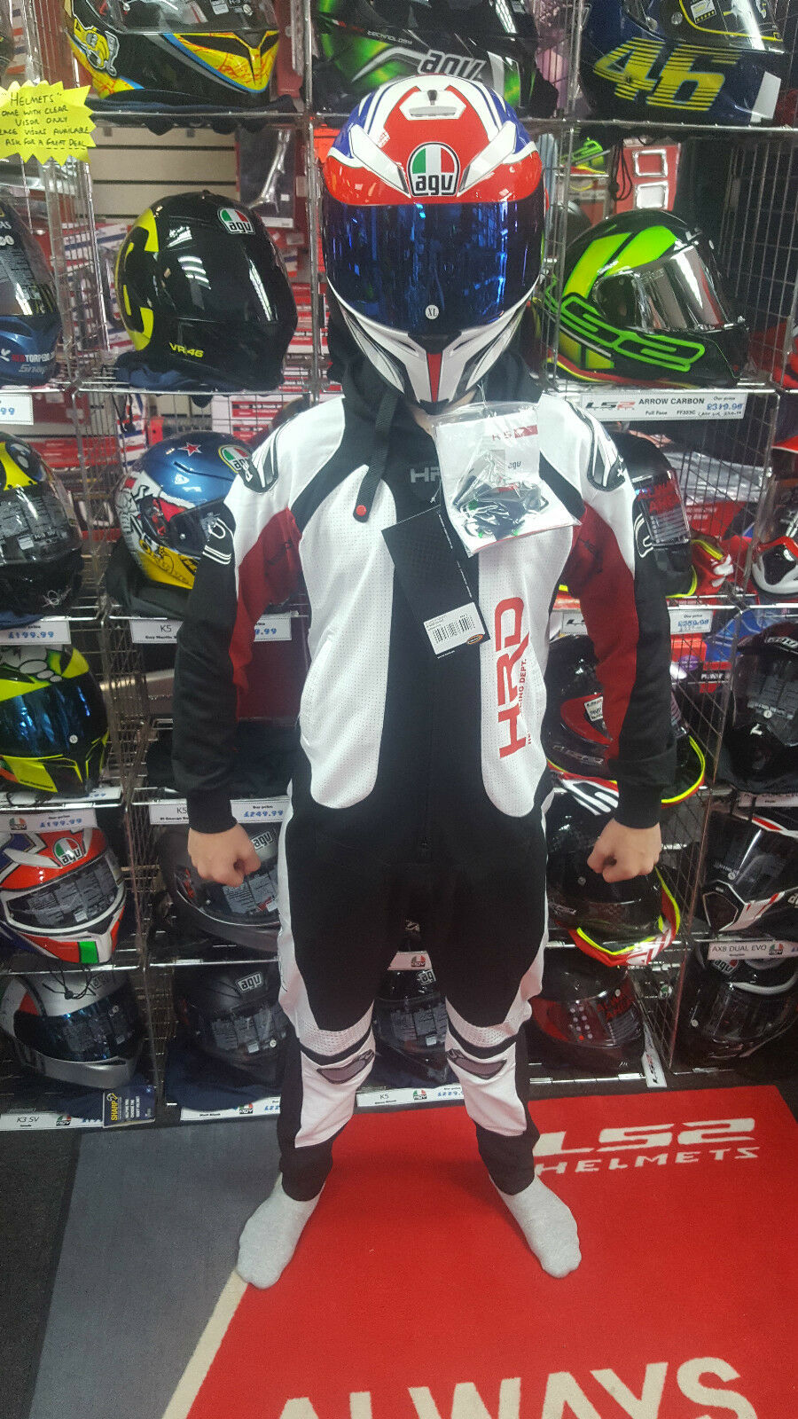 2017 MOTORCYCLE  PYJAMA RACE SUIT REPLICA ONE PIECE LEATHERS FANCY DRESS COTTON