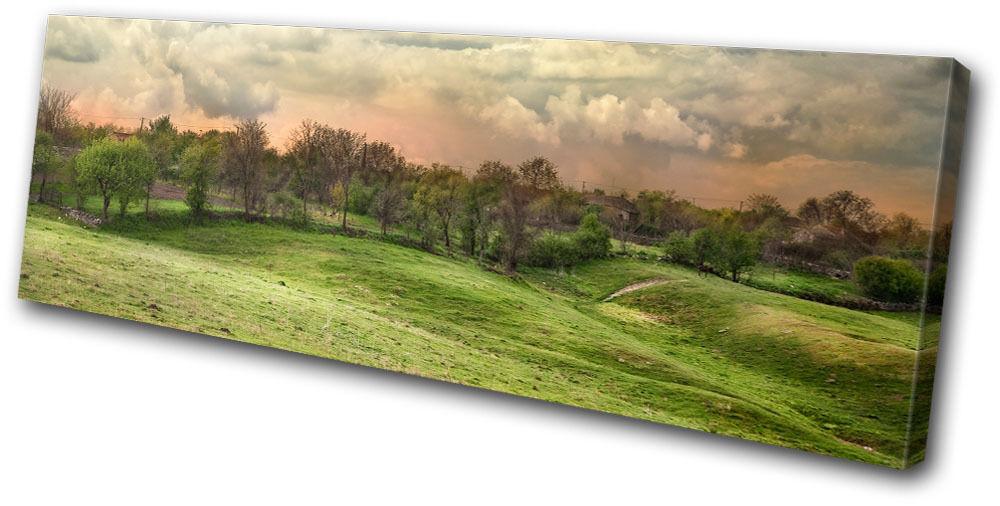 Canvas Art Picture Print Decorative Photo Landscape Countryside Field