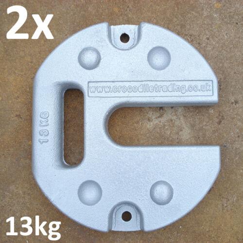 Pavillons Festzelte Gewichtsscheiben für Faltzelte Markisen Zusatzgewichte