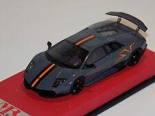 1/43 MR Lamborghini Aventador SuperVeloce Grigio Telesto China edition 100 pcs