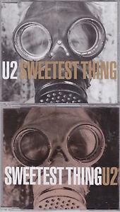 U2  Sweetest Thing  Deleted UKEuropean 6trk 2x CD set Promo - Hants, Hampshire, United Kingdom - U2  Sweetest Thing  Deleted UKEuropean 6trk 2x CD set Promo - Hants, Hampshire, United Kingdom