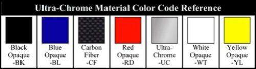 "7 Colors to Choose C5 Corvette Rear Bumper 1//16/"" Acrylic Letter Kit"