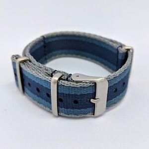 20mm-Premium-Military-NATO-Watch-Strap-Navy-Grey-Blue