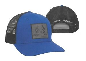 New REALTREE FISHING  REFLECTIVE PATCH Mesh Back Structured Adjustable Hat