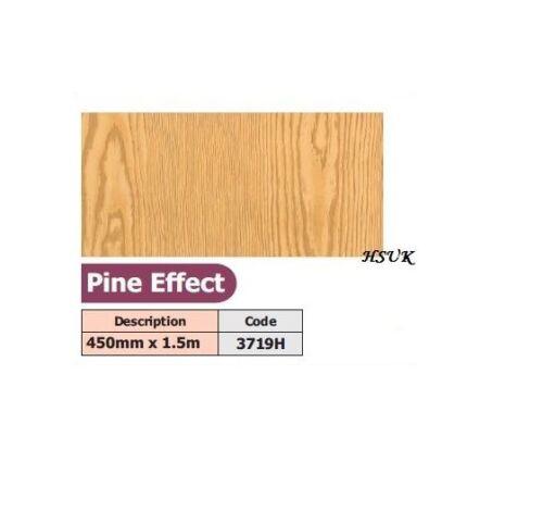 PINE EFFECT  LIKE TYPE FABLON SELF ADHESIVE VINYL STICKY BACK STICK ON 45CMX1.5M