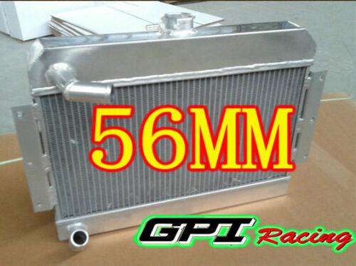 56MM ALUMINUM ALLOY RADIATOR MGB GT//ROADSTER TOP-FILL 1968-1975 1969