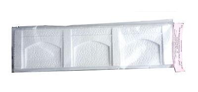 2 x 1 Embankment retaining wall 375mm 95mm forming V13 UNPAINTED OO Model Kit