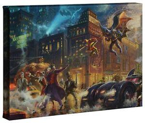 Thomas-Kinkade-Studios-The-Dark-Knight-Saves-Gotham-City-10-x-14-Wrap-Canvas
