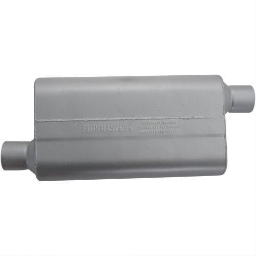 2.50 Offset In//2.50 Offset Out Flowmaster 942553 50 Series Delta Flow Muffler