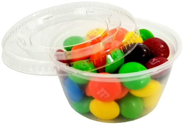 """1oz~100/&up Large Jello Jelly Shot Souffle Portion Cups with Lids Option~ /""""Bulk/"""""""