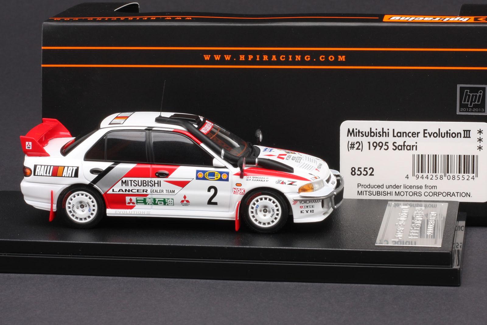 Mitsubishi LANCER LANCER LANCER EVO III  2 1995 Safari Rally  Pentti kuukkula  Hpi  8552 1 43 b354f3