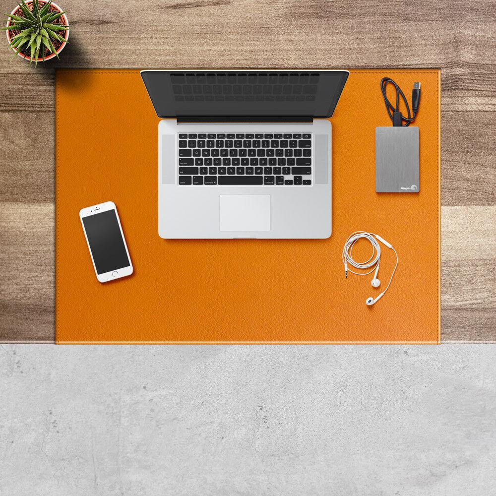 Schreibunterlage aus Leder Naturbraun Gleitschutz mit Aufbau aus Stahl cm 70x50 | Primäre Qualität  | Exquisite Verarbeitung  | Gewinnen Sie hoch geschätzt