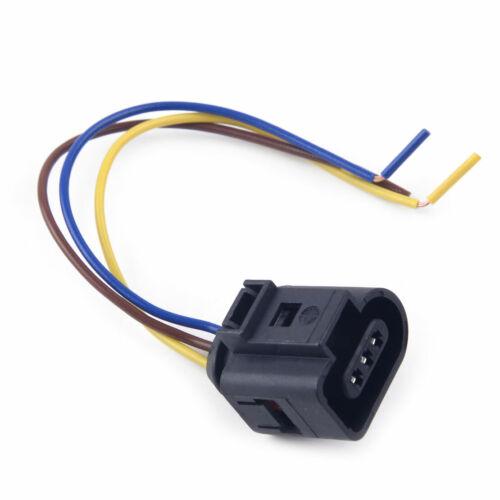 3-pol Nockenwellensensor Stecker Steckverbinder 1J0973703 passt für VW Audi Seat