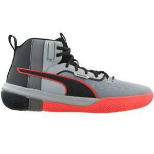 Puma-Men-039-s-Legacy-Disrupt-Black-Red-Blast-Brand-New