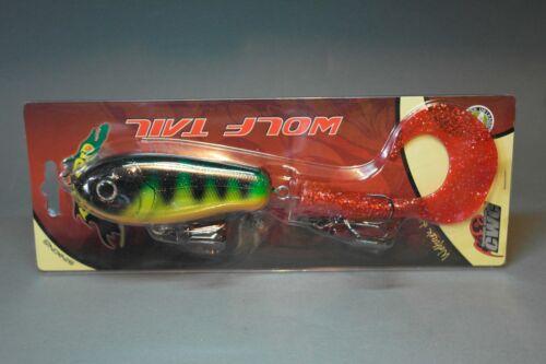 verschiedene Farben! 23cm StrikePro Wolf Tail 104,5gr