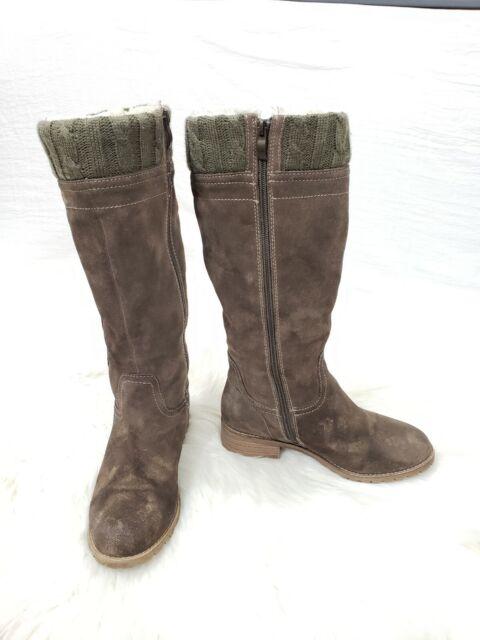🌺Bjorndal Sebastian Brown Tall Suade Leather Riding Boots Solaris MSRP sz 7
