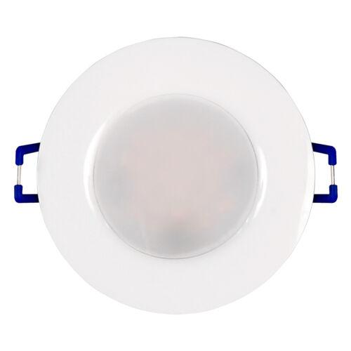 LED Einbau-Leuchte Einbau-Strahler Spot IP44 Bad 30mm flach Einbau-Lampe 5W