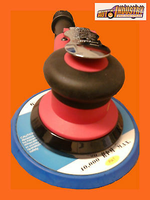 QUALITY DUAL-ACTION AIR PALM SANDER 5 OR 2.5mm ORBIT.DYNABRADE BUYERS SHOULDLOOK