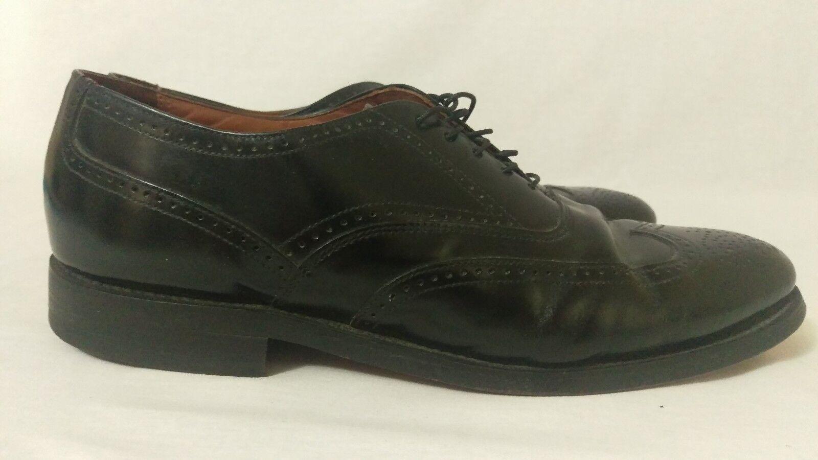 Bostonian Classics shoes Dress Wingtip Oxford Black Mens Size 10 D B