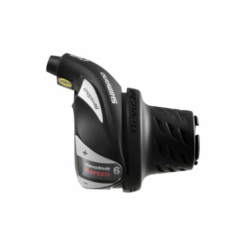 Shimano RevoShift SL-RS36-6R Twist Grip Shifter-Vitesse 6-Droit-Noir