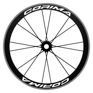 CORIMA 4 SPOKE ROAD VERSION WHEEL AND FRAME STICKERS DECALS FOR BIKE BICYCLE