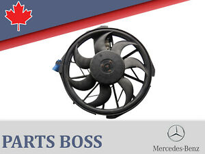 MERCEDES-BENZ-B200-2006-2011-OEM-AUXILIARY-FAN-ASSEMBLY-1698203642-1698203542