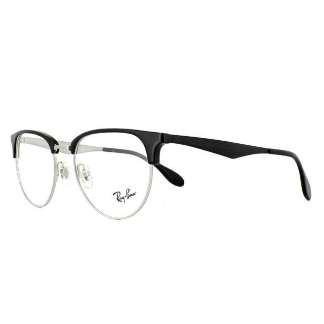 vasta selezione di d3bf3 098af Glasses Vista Ray-Ban Rx6396 2932 Black/silver