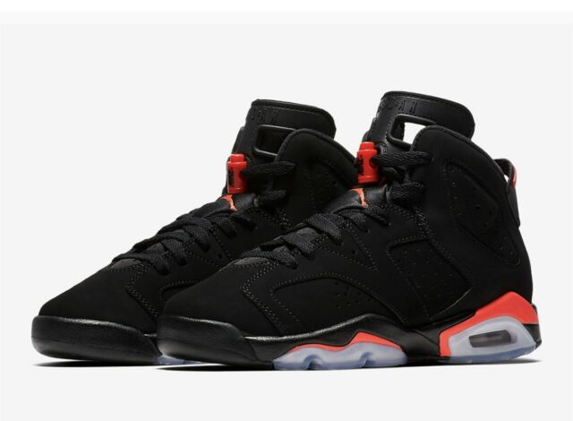 stable quality high fashion online here DS 2019 Nike Air Jordan 6 VI Retro OG Black Infrared 384664 060