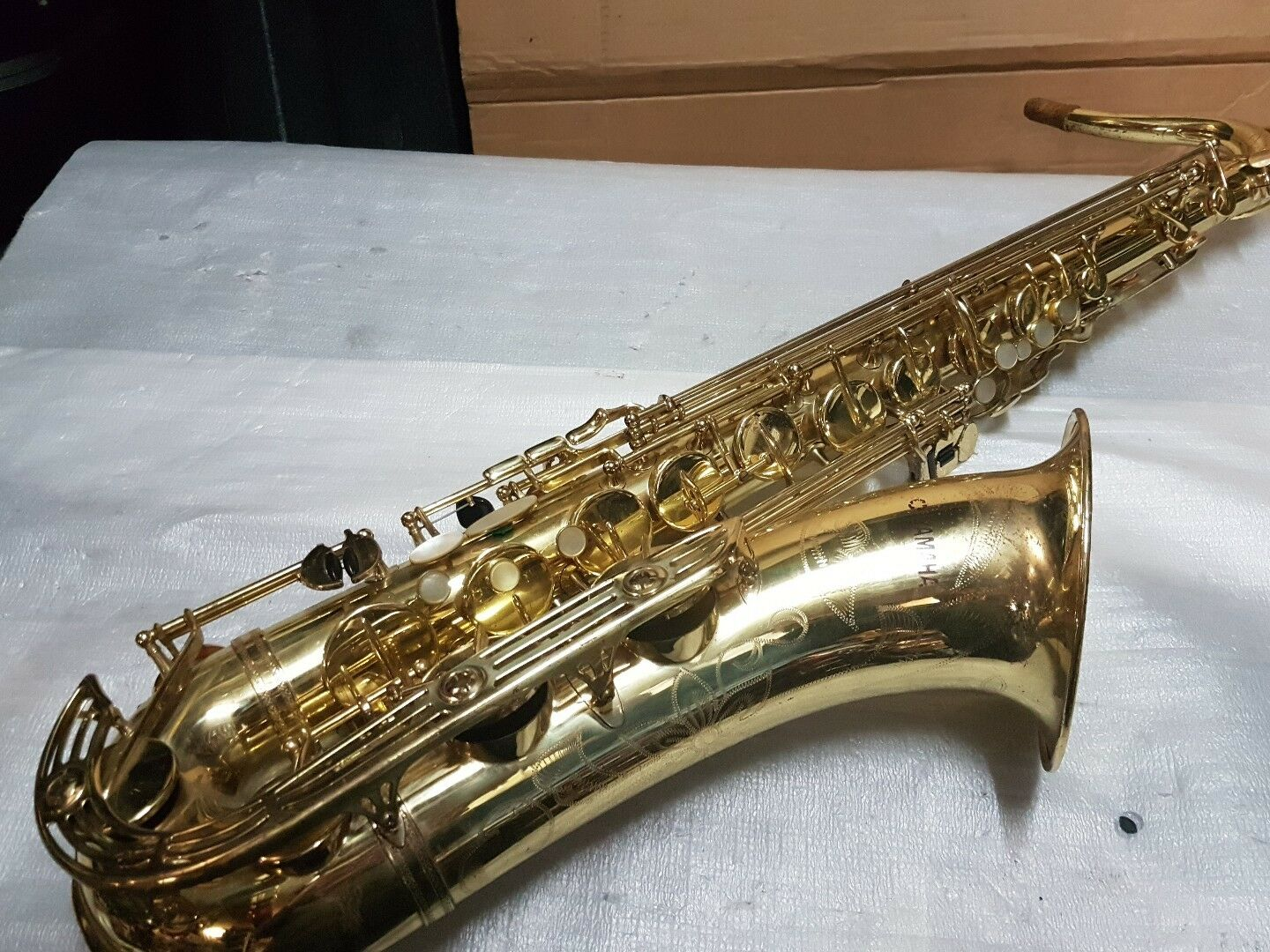 YAMAHA TENOR SAX   SAXOPHONE YTS 61 - made in JAPAN