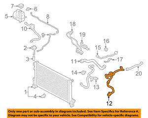 VOLVO OEM 16-17 XC90 Radiator Coolant-Lower Hose 32224779 | eBay | Volvo Xc90 Engine Coolant Diagram |  | eBay
