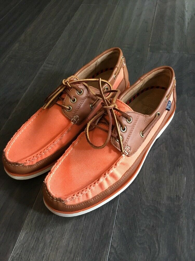 Polo Ralph Lauren Bienne Canoe Boat Deck shoes  Men's 11.5 New