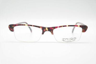 Attento Vintage Znirp-design 84 56 [] 18 145 Colorato Mezza Bordo Occhiali Eyeglasses Nos-mostra Il Titolo Originale Qualità Eccellente