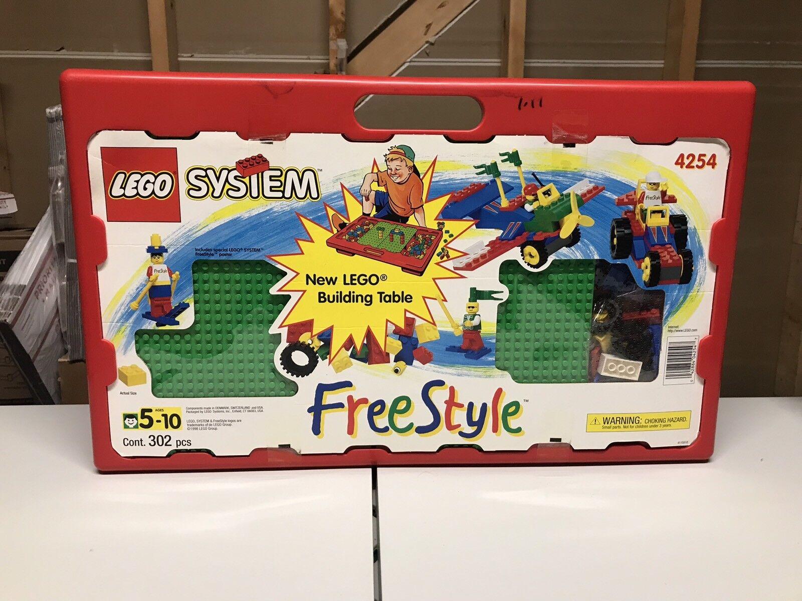 Lego  4254 System Libre Style 1998 Building Table Factory Sealed 302 PIECES  économiser jusqu'à 70%