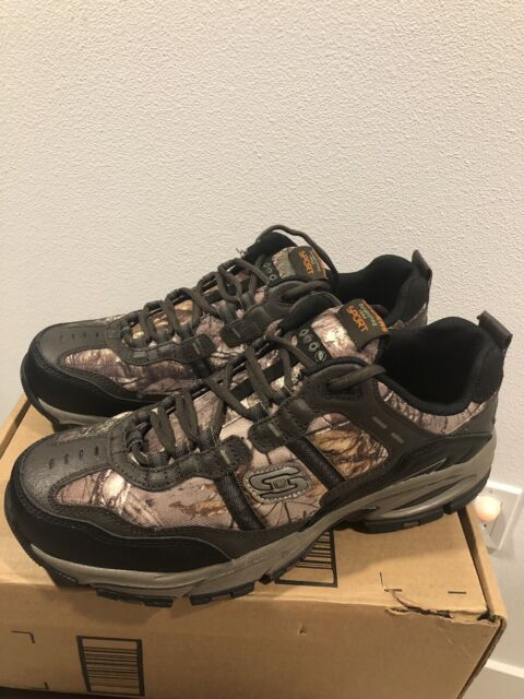 100% top quality cheap for discount many styles New Skechers Sport Camo Mens Vigor 2.0 Oxford US sz 11.5 EW Eur 43