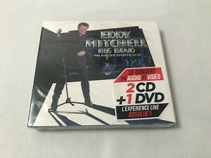RARE-Edition-Limitee-2CD-DVD-EDDY-MITCHELL-PALAIS-DES-SPORTS-2016-NEUF