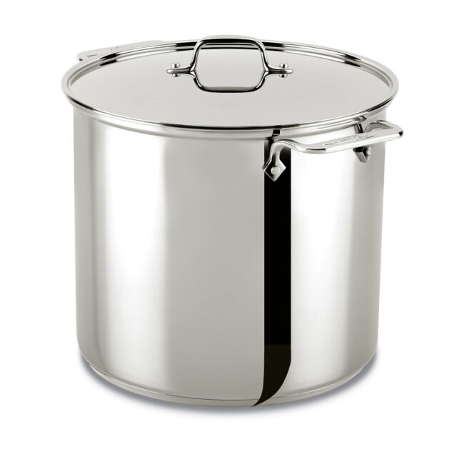 All Clad D55204 D5 Polished Stainless Steel 5 Ply 4 Qt