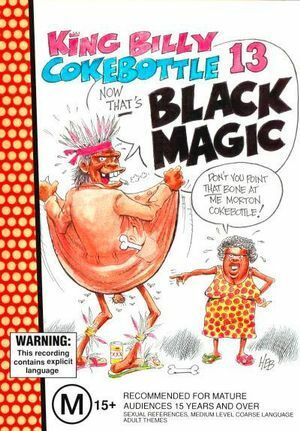 King Billy Cokebottle Black Magic DVD Region 0 PAL NEW unsealed