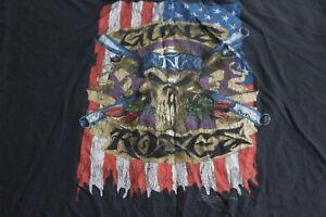 Bravado-Rugged-Guns-N-Roses-Licensed-Music-TEE-T-SHIRT-2XL-XXL-Length-29