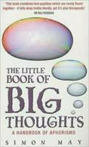 Little Book Of Big Thoughts von May, Simon