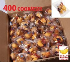 400 pcs Golden Bowl Fortune Cookies FRESH STOCK