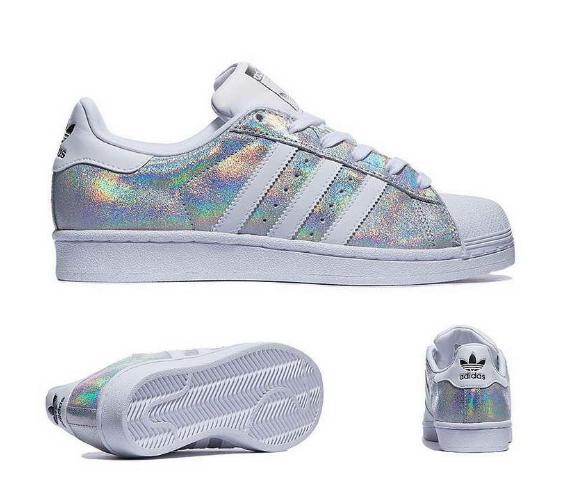 Adidas Superstar brillo iridiscente brillo Talla UK UK UK 9  ventas en linea
