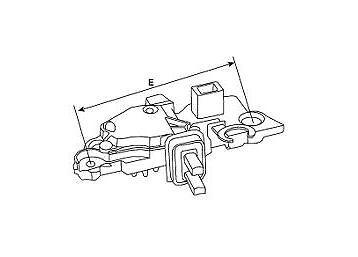 Regulador de alternador 03G100 Ford Galaxy 1.9 2.8i TDI