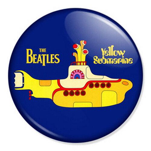 "The Beatles Yellow Submarine 25mm 1"" Pin Badge Artwork Lennon McCartney"